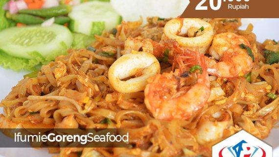 Menikmati Ifumie Goreng Seafood di Kota Medan