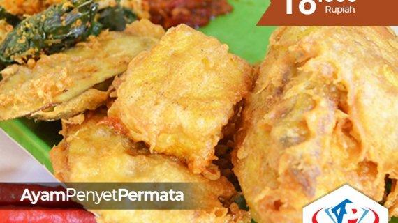 """Menikmati """"Ayam Penyet Khas Permata"""", menu unggulan Alpermata Nusantara Medan"""