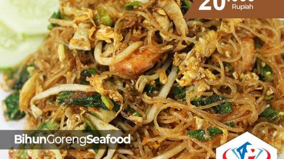 Mencari bihun Goreng Seafood di kota Medan? Disini tempatnya