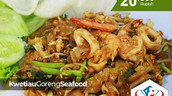Lagi mencari Kwetiau Goreng Seafood di Medan? Alpermata Nusantara Tempatnya