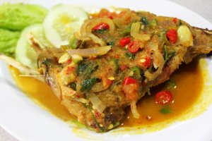 Ayam Rica-rica di Medan