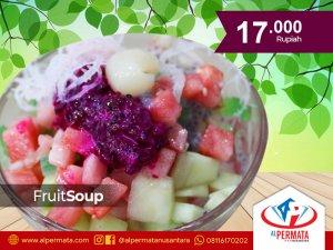 fruit soup medan