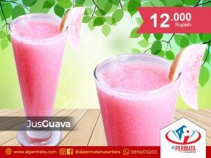 jus guava medan