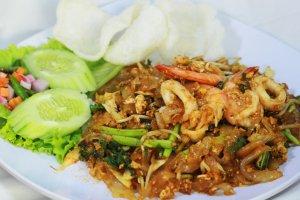 Kwetiaw Goreng Seafood di Medan