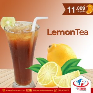 lemon tea medan