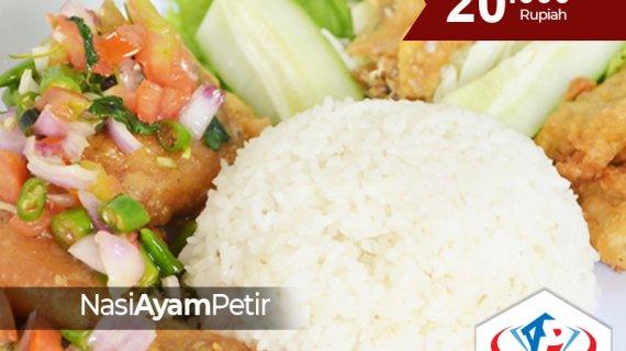 Kekhasan Nasi Ayam Petir Dengan Sensasi Rasa Pedas Yang Menyambar Di Siang Bolong hanya ada di Medan