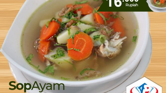 Sajian Sop Ayam Lezat Dan Nikmat Di Medan