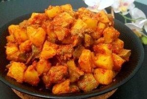 resep sambal goreng kentang santan