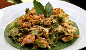 pecel sayur enak di medan khas masakan jawa