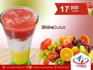 shine juice medan