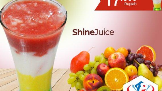 Shine Juice Medan Segarnya 100% Dari Buah Pilihan