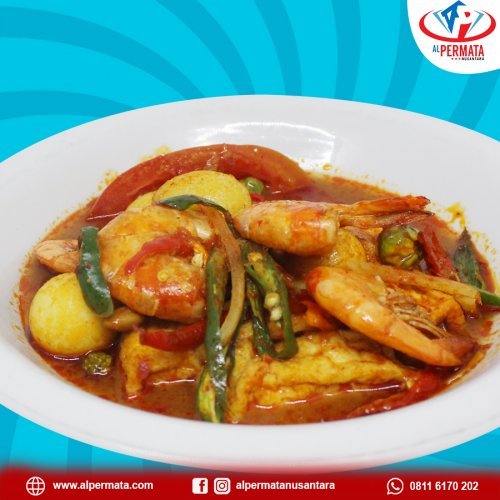 Tauco udang telur puyuh