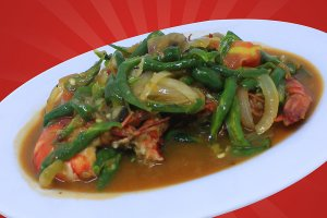 Udang Cabe Ijo