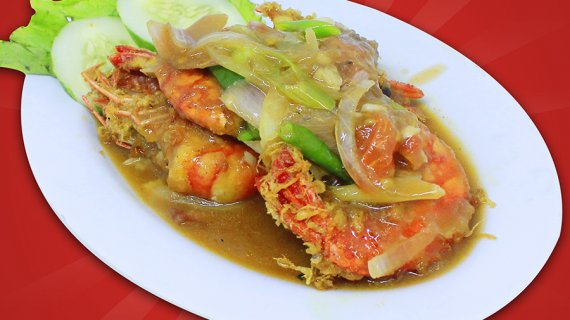 Udang Saus Tiram