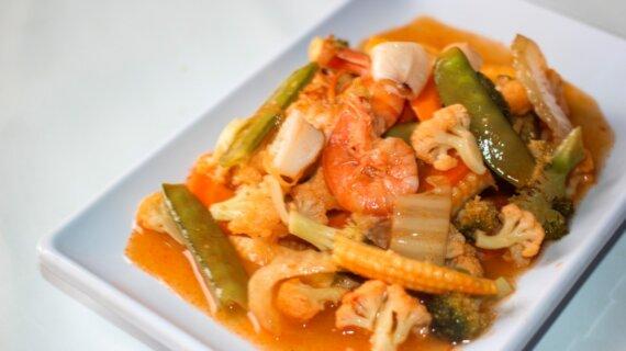 Capcay Seafood Bikin Kamu Jadi Good Mood