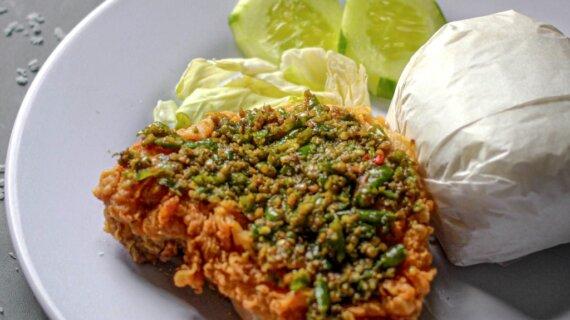 Ayam Geprek Ijo